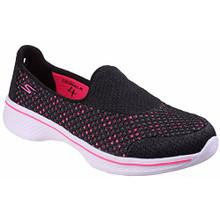 Skechers Childrens/Kids SK81118L Go Walk 4 Kindle Slip On Trainers/Sneakers (Black)