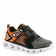 Skechers Hypno-Flash 2.0 - Rapid Quake Charcoal/Orange Kids Boys Light-Up Sneaker