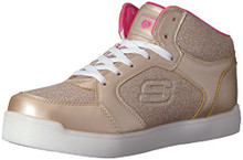 Skechers Kids Girls' E-Pro Sneaker,Gold,