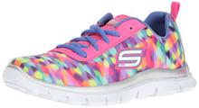 Skechers Kids Girls' Skech Appeal-Rainbow Runner Sneaker,Multi