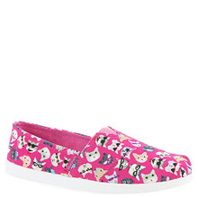 Skechers Kids Girl's Solestice 85289L (Little Kid/Big Kid) Hot Pink/Multi