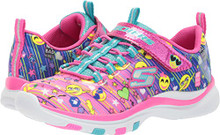 Skechers Kids Girl's Trainer Lite - Color Dance (Little Kid/Big Kid) Multi