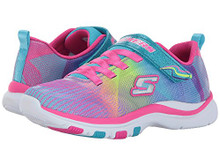 Skechers Kids Girls' Trainer Lite-Dash N'Dazzle Sneaker,Multi