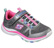 Skechers Kids Girls' Trainer Lite-Jazzy Jumper Sneaker, Cchp