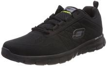 Skechers Mens Synergy-Power Switch Running Shoe Black