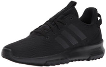 Adidas Neo Men's CF Racer TR, Black/Black/Running White, 9.5 M US