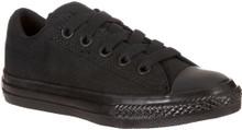 Converse Boy's Chuck Taylor All Star Street Ox Shoe, black, 6 M US Little Kid