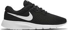 New Nike Boy's Tanjun Sneaker Black/White/White 3.5