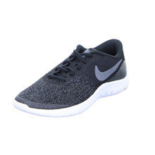 NIKE KIDS NIKE FLEX CONTACT (GS) BLACK DRK GRY ANTHRACITE WHITE SIZE 4