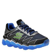 Skechers Boys' Skech-Air Turbo Drive Sneaker,Black/Blue/Lime