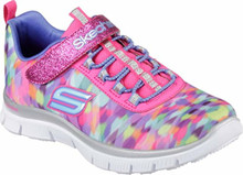 Skechers Girls' Skech Appeal Color Daze Trainer,Multi