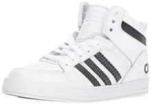 adidas Boys' Raleigh 9TIS Mid K Sneaker, White/Black/WhiteLittle Kid