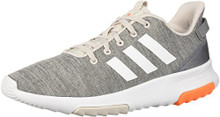 adidas Kids CF Racer TR Running Shoe, Chalk Pearl/White/Hi-Res OrangeBig Kid