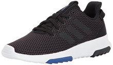 adidas Kids CF Racer TR Running Shoe, Utility Black/Black/Running White/Collegiate RoyalBig Kid