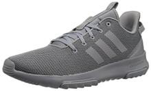 adidas Men's CF Racer TR Sneaker, Grey Heather/Grey Heather/Black