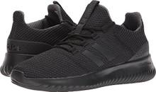 adidas Men's Cloudfoam Ultimate Running Shoe, Black/Black/Utility Black
