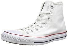 Converse Chuck Taylor All Star Canvas High Top Sneaker, Optical White Men/Women