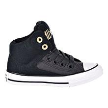 Converse Chuck Taylor All Star High Street Hi Big Kid's Shoes Black/Almost Black 659979f