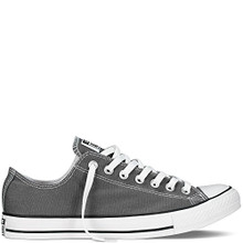 Converse Unisex Chuck Taylor All Star Low Top Charcoal Sneakers Women / Men