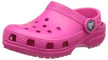 Crocs Kids' Classic K Clog, Candy Pink Toddler
