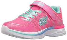 Skechers Kids Girl's Dream N' Dash 81131L (Little Kid/Big Kid) Perwinkle/Mint  Little Kid