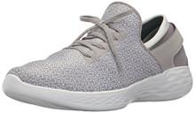 Skechers You by Women's You Inspire Slip-On Shoe,Gray,9 M US