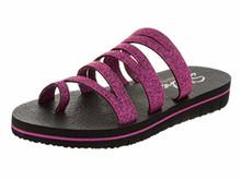 Skecher 31752 Women's Cali Zenflex - Camp Zen Sandal (US M) (10, Raspberry)