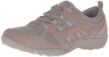 Skechers Sport Women's Breathe Easy Good Luck Fashion Sneaker,Taupe,8.5 M US