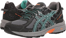 ASICS GEL-Venturer 6 Black/Ice Green/Orange Women's Running Shoes