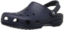 Crocs Classic Navy Blue Comfort Durable Practical Clogs Sandals Size 4