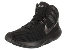 NIKE Men's Air Precision Basketball Shoes (10, Black/Grey-M)