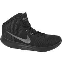 NIKE Men's Air Precision Basketball Shoes (13, Black/Grey-M)