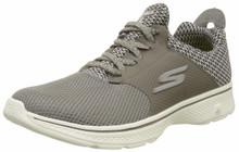 Skechers Mens Gowalk 4 - Instinct Taupe Sneaker - 7.5
