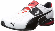 PUMA Men's Cell Surin 2.0 FM Sneaker, White Black, 12 M US