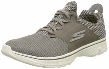 Skechers Mens Gowalk 4 - Instinct Sneaker Taupe Size 10.5