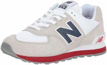 New Balance Men's 574v2 Sneaker, Nimbus Cloud/Navy, 11 D US