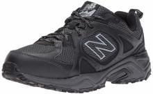 New Balance Men's 481V3 Cushioning Trail Running Shoe, Black, 14 4E US