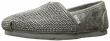 BOBS from Skechers Women's Luxe Bobs-Big Dreamer Flat, Pewter