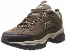 Skechers Energy Downforce Mens Sneakers Brown/Taupe