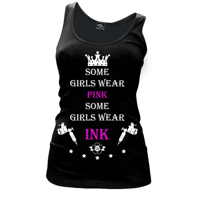 Women's SOME GIRLS WEAR PINK SOME GIRLS WEAR INK - TANK TOP
