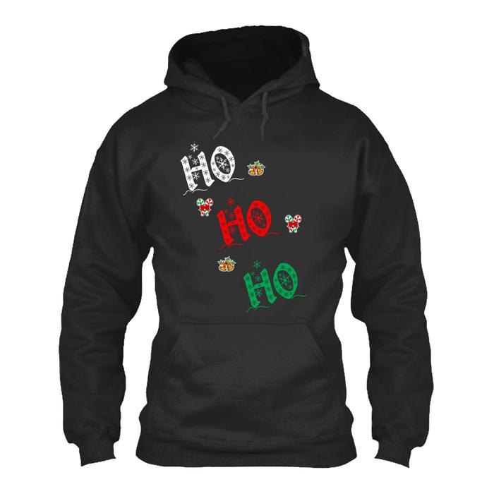 Women's HO! HO! HO! - HOODIE