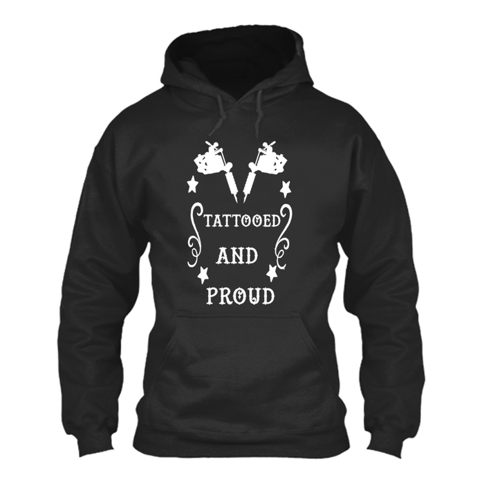 Men's TATTOOED AND PROUD - HOODIE