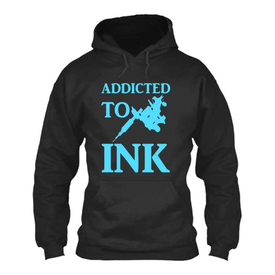 Men's ADDICTED TO INK - HOODIE