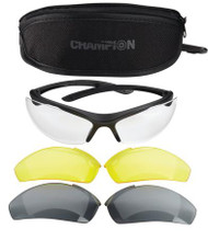 Champion Shooting Glasses - Interchangeable Lens - 076683406064