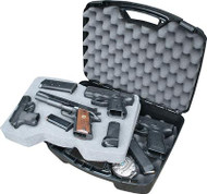 MTM Case-Gard 811 Series Four Pistol Case - Black - 026057308401