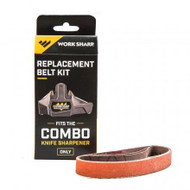 Work Sharp Tools Replacement Belt Kit - Combo Knife Sharpener - 662949039406