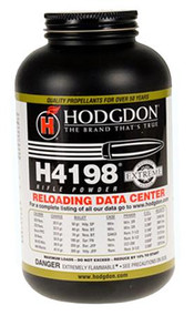 Hodgdon H4198 Powder - 1 lb - 039288500155