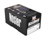 "Nosler AccuBond Bullets - 30 Cal - .308"" - 165 Grain Spitzer - 054041556026"