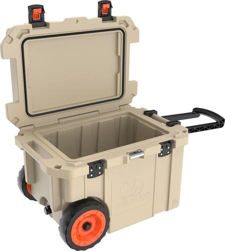Pelican Elite Wheeled Coolers - 45 Quart - 825494065867