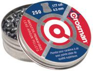 Crosman Wadcutter Pellets .177 Caliber 250 Per Package 12 Packages per Case - 028478617704